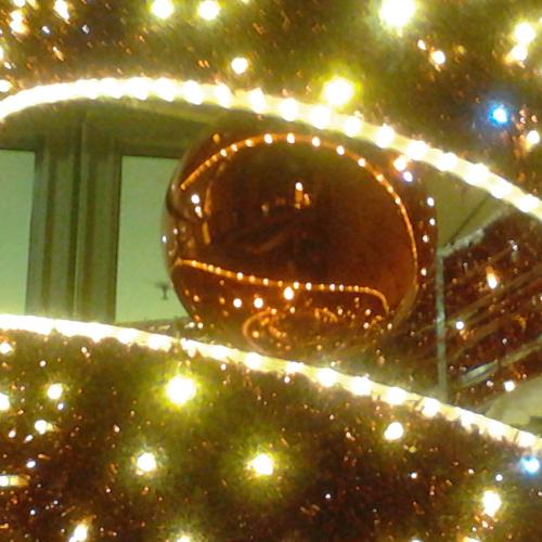 Potsdamer Platz Christmas Face